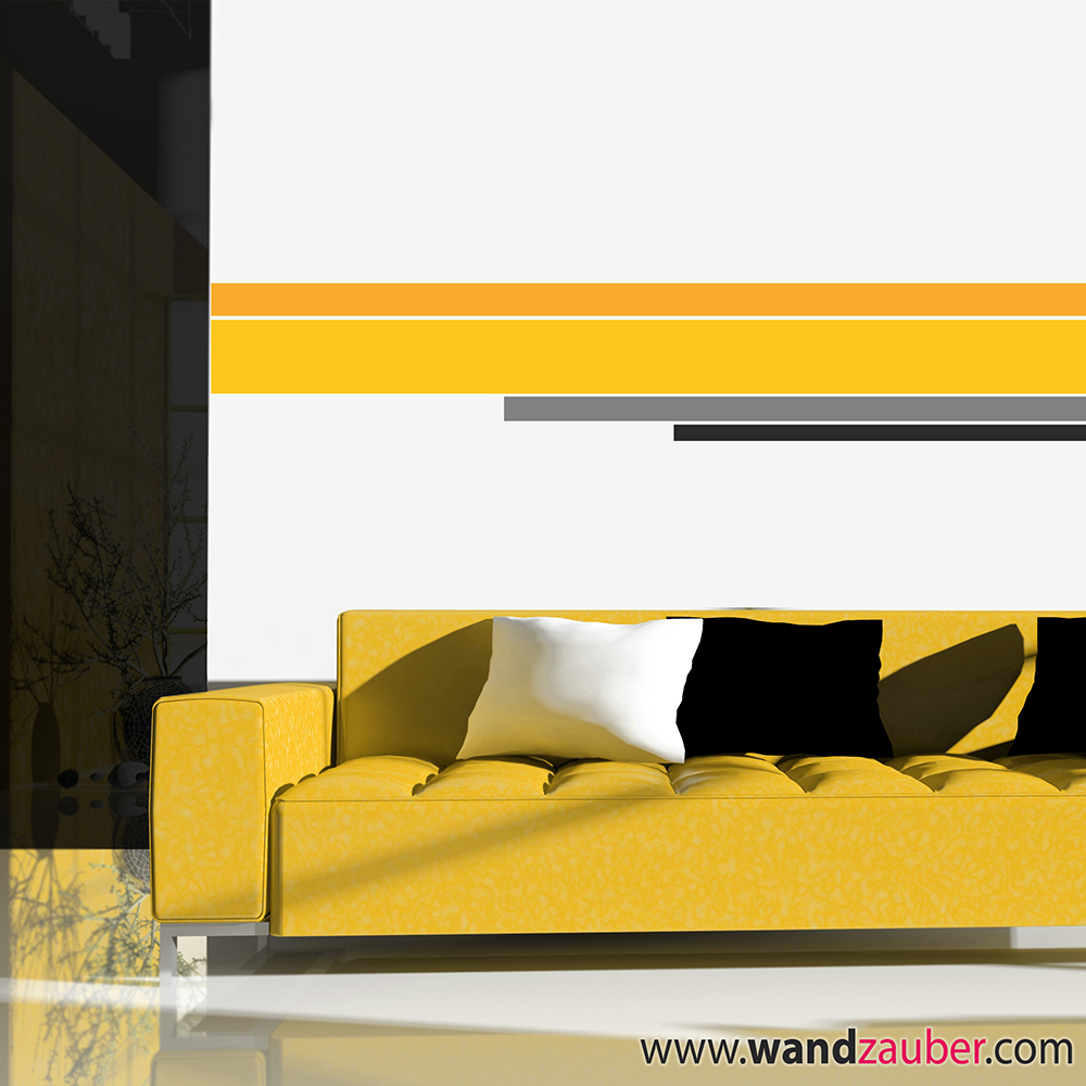 wandtattoo bunte streifen reuniecollegenoetsele. Black Bedroom Furniture Sets. Home Design Ideas