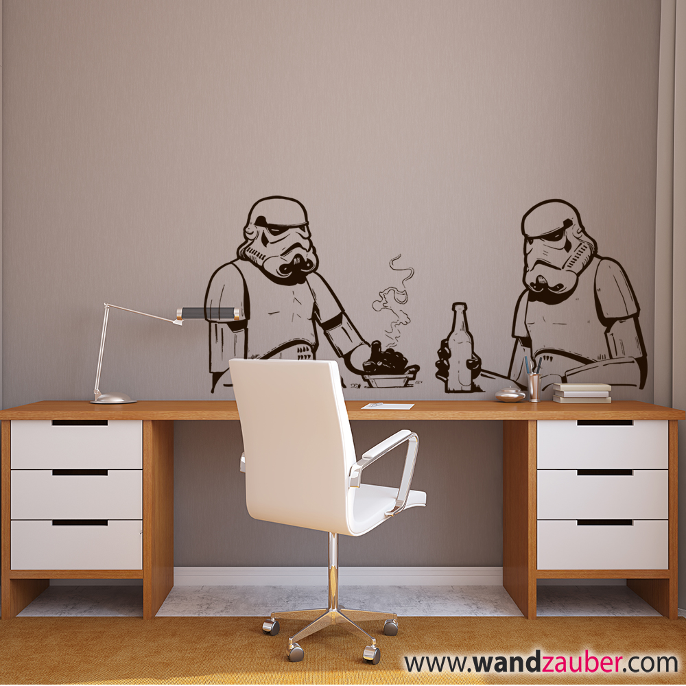 wandtattoo star wars at at reuniecollegenoetsele. Black Bedroom Furniture Sets. Home Design Ideas